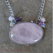 Cínovaný náhrdelník - Ruženín