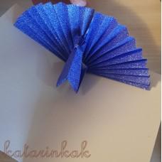 Origami páv - video návod