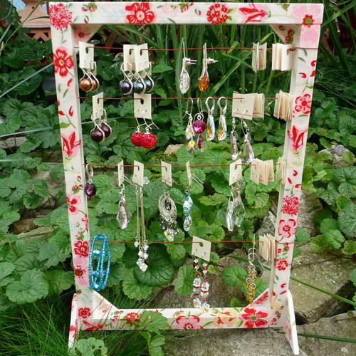 katarinkak - handmade stojan na náušnice